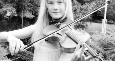 NordenBladet.ee: EESTIST PÄRIT 11aastane viiuldaja Estella Elisheva võlub maailma muusikaklassikuid